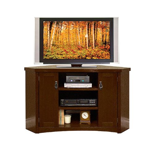 Cheap Mission Pasadena Corner TV Stand (MP351)