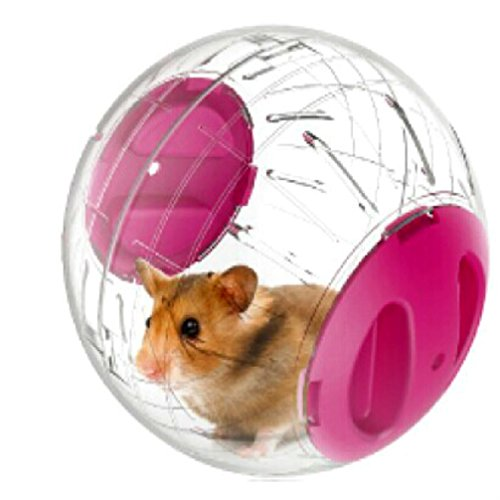 Pets Small Animals Run-About Mini 4.7inch Exercise Balls for Dwarf Hamsters,Pink 51UHH nZmAL