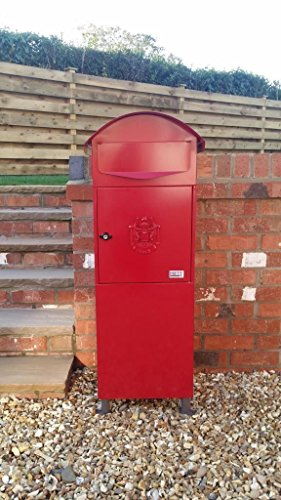 Generic Large RED Letter Box, Post Box Mail Box Letterbox large tall red box