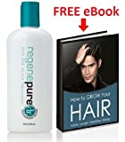 "Regenepure DR - Hair & Scalp Treatment - PLUS ebook on ""How to Grow Your Hair Faster, Longer, Healthier and Shinier"""
