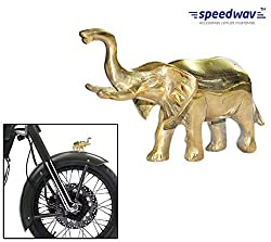 Speedwav Brass Elephant Front Fender Decorative-Royal Enfield-U