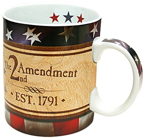 Reflective Art The 2Nd Amendment Boxed Coffee Mug, 16-Ounce