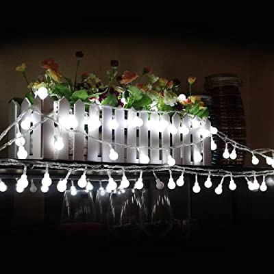 Candance(TM)100 LED String Lights Linkable Globe Lights for Indoor and Outdoor Christmas Party Decoration