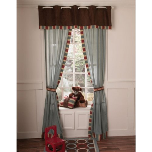 Aidan Window Drapes w/ Tie Back