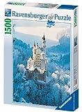 Ravensburger - Neuschwanstein en invierno, puzzle de 1500 piezas (16219 2)