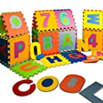 Baby Puzzle Play Mat made of Soft Foa...