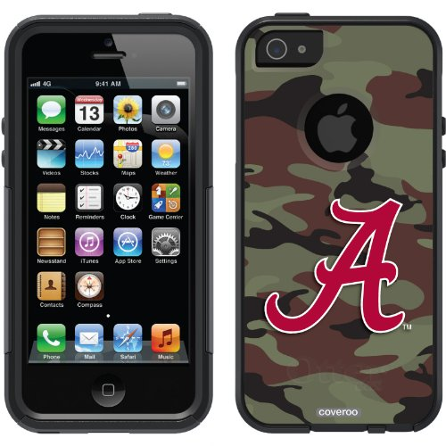 Best Price Alabama - Camo Red A design on a Black OtterBox® Commuter Series® Case for iPhone 5s / 5