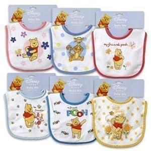 Disney Baby Winnie The Pooh Bib - Boy - One Bib