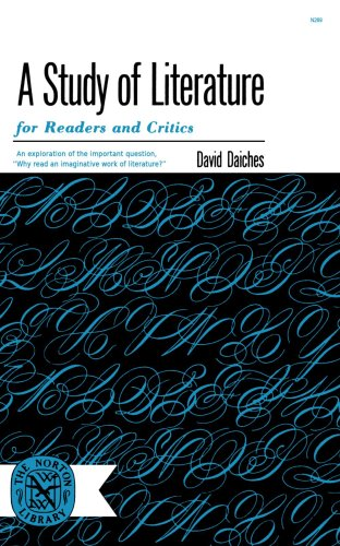 Study Of Literature, Daiches David