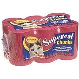Supercat Premium Chunks Variety 400 g (Pack of 12)