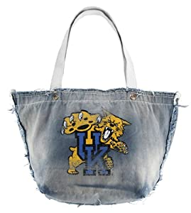 NCAA Kentucky Wildcats Vintage Tote, Blue by Littlearth