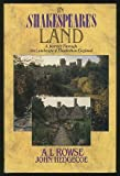 In Shakespeare's Land (0297790153) by Rowse, A. L.