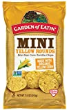 Garden of Eatin' Mini Yellow Rounds Corn Tortilla Chips, 7.5 Ounce (Pack of 12)