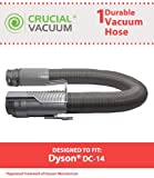 Dyson DC14 Replacement Grey Hose for Dyson Vacuum DC14; Replaces Dyson Part # 908474-01, 908474-37; Designed and Engineered by Crucial Vacuum