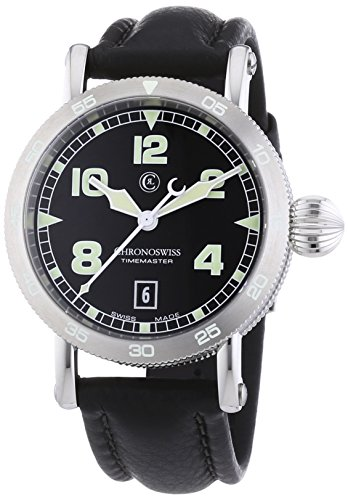 chronoswiss-timemaster-mens-automatic-watch-with-black-dial-analogue-display-and-black-strap-28531-s