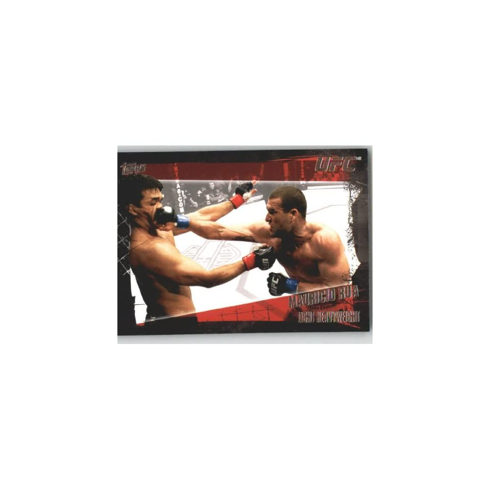 2010 Topps UFC Trading Card # 96 Mauricio Rua (Ultimate