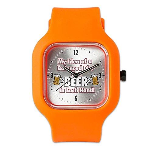 orange-fashion-sport-watch-my-idea-balanced-diet-beer-each-hand
