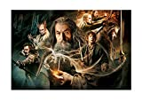 Hobbit Edible Image Photo Birthday Party Event 1/4 Quarter Sheet Cake Topper Personalized Custom Customized