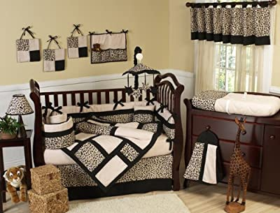 Safari Jungle Cheetah Print Baby Bedding Set from Sweet JoJo Designs