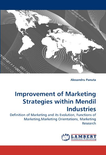 Thesis on marketing orientations