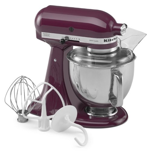 Kitchen Aid 5KSM150 Stand Mixer Boysenberry - 220 Volts Only! Will Not Work In The USA