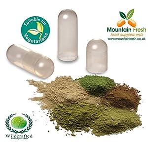 Turmeric Curcuma longa Capsules Kit 100% Pure Herb 100 x 750mg