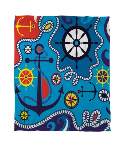 Nautical Themed Bedding 5412 front