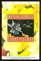 Motion Sickness (Masks) by Lynne Tillman