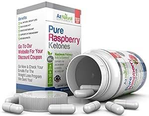 Cétone de framboise minceur - Wild Raspberry Ketone Fat Burner Plus - 60 comte 500 mg  bruleur de graisse Perte de poids rapide pilule amaigrissante 1 mois d'approvisionnement
