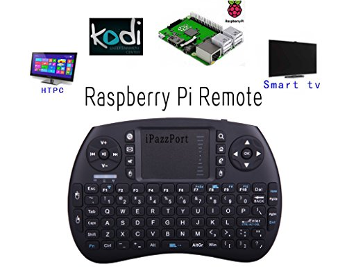 Ipazzport wireless mini keyboard with touchpad for android for Full name of pi