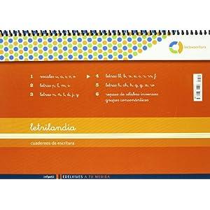 Letrilandia Lectoescritura cuaderno 4 de escritura