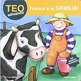 ¡Vamos a la granja!: Con adhesivos reutilizables (Teo Adhesivos (timun Mas))