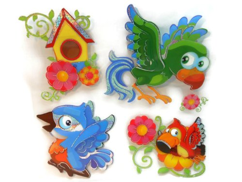 "ROOM DECOR for KIDS "" HAPPY PARROT'S"""