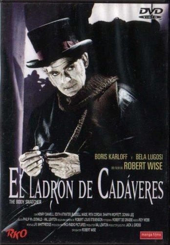 El ladrón de cadáveres (Manga Films) [DVD]