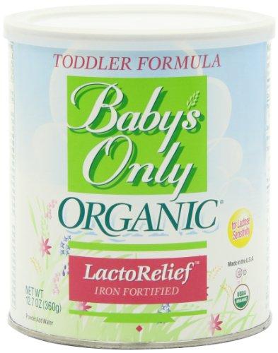 Imagen de Fórmula Niño Solo bebé, Alivio lactosa, Orgánica, de 12,7 onzas