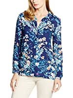 ESPRIT Collection Camisa Mujer (Azul)