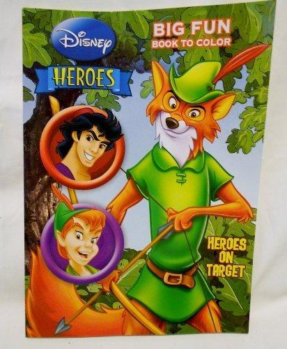 """Disney """"Heroes"""" Heroes on Target Coloring Book"""
