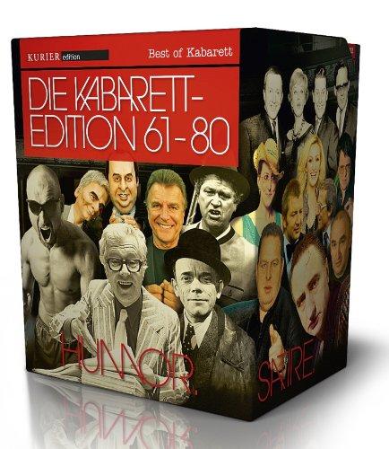 Die Kabarett Edition - Gesamtbox 61-80 [20 DVDs]