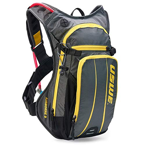 3L USWE Outlander 3 Hydration Pack With Bladder CRAZY YELLOW