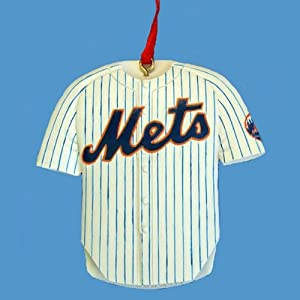 "3"" RESIN NEW YORK METS JERSEY ORNAMENT - Christmas Ornament"