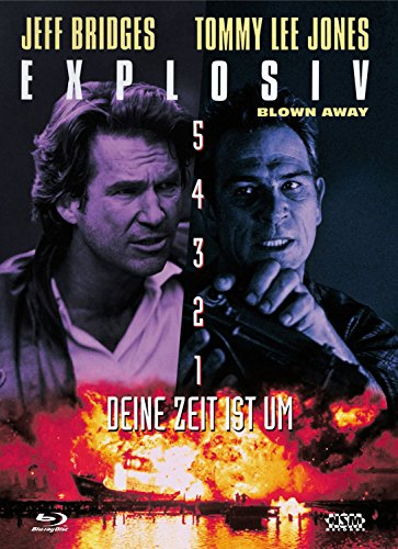 Explosiv - Blown Away - uncut (Blu-Ray+DVD) auf 500 limitiertes Mediabook Cover B [Limited Collector's Edition] [Limited Edition]