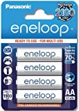 eneloop 3rd Generation (HR-3UTGB) AA rechargeable battery (4 Pack)