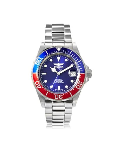Invicta Men's 5053 Pro Diver Silver/Blue Stainless Steel Watch