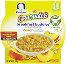buy Gerber Graduates Breakfast Buddies - Peach - 4.5 Oz - 8 Pk