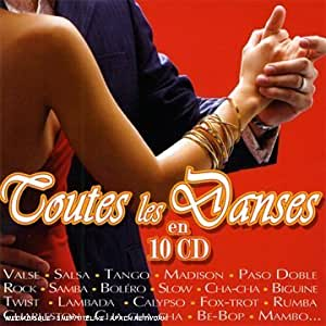 Coffret 10 CD :  Toutes les Danses en 10 CD