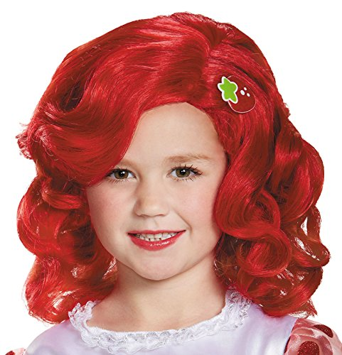 Disguise 84466CH Strawberry Shortcake Deluxe Child Wig Costume Child
