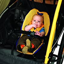 Burley Baby Snuggler for Burley Child Bicycle Trailers (2004-2009, Blue/Yango)