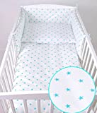 Baby Lux Nido para cama con protección para cabeza 210x 30cm
