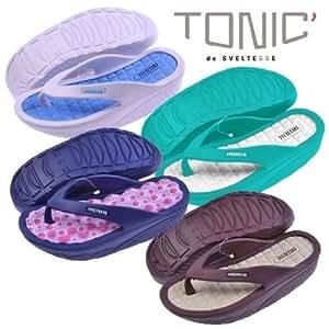 Sveltesse - Tongs tonifiantes tonic (Turquoise, 36)