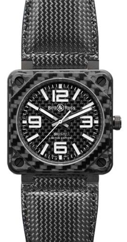 Bell And Ross Aviation Carbon Fiber Black Dial 46 Mm